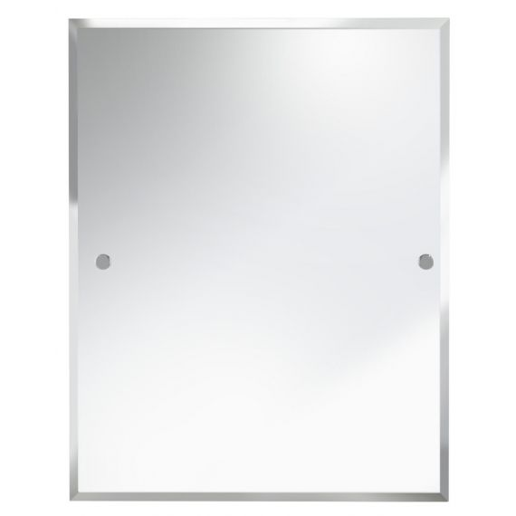 Bristan 700 x 550mm Rectangle Mirror COMP MRRE Chrome