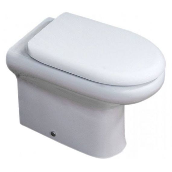 RAK Compact Back to Wall Toilet and Soft Close Seat COMBTWPAN/010