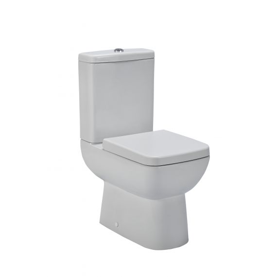 Nuie Ambrose Compact Semi Flush to Wall WC & Seat