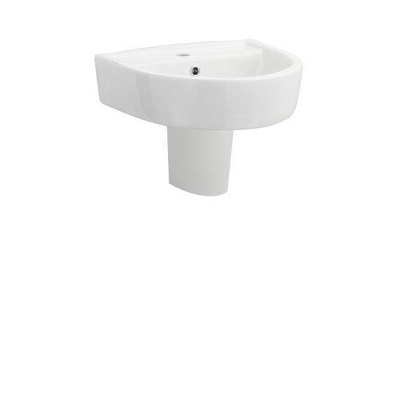 420mm Basin & Semi Pedestal