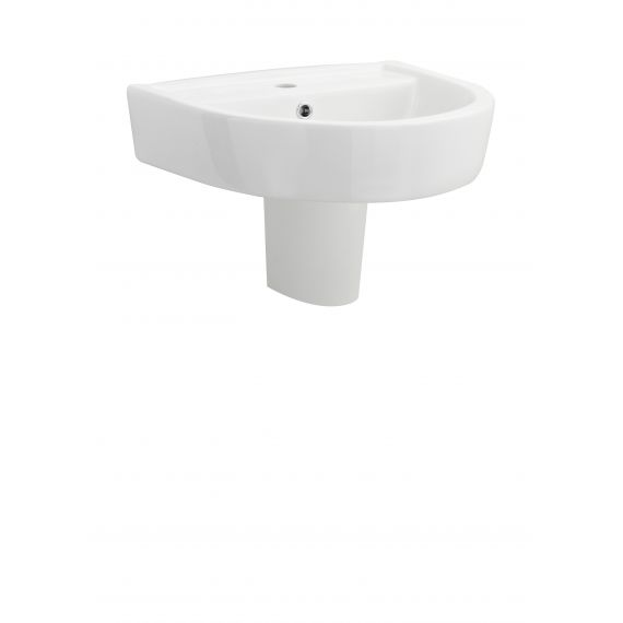 520mm Basin & Semi Pedestal