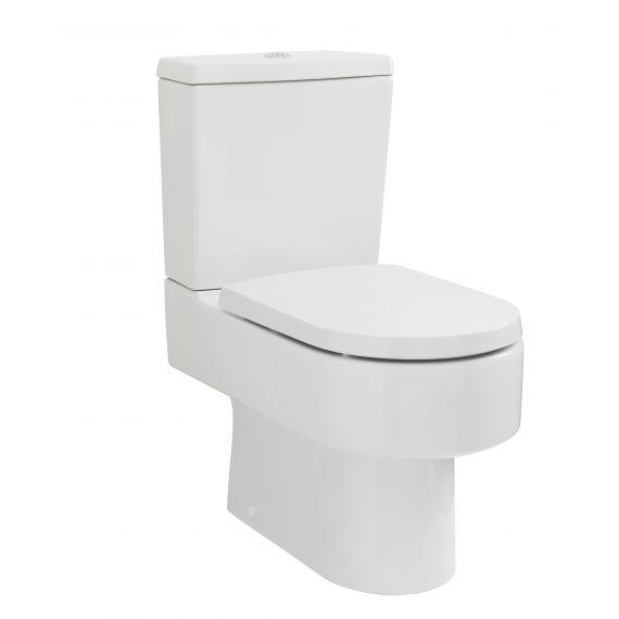 Nuie Ambrose Semi Flush to Wall Pan & Cistern