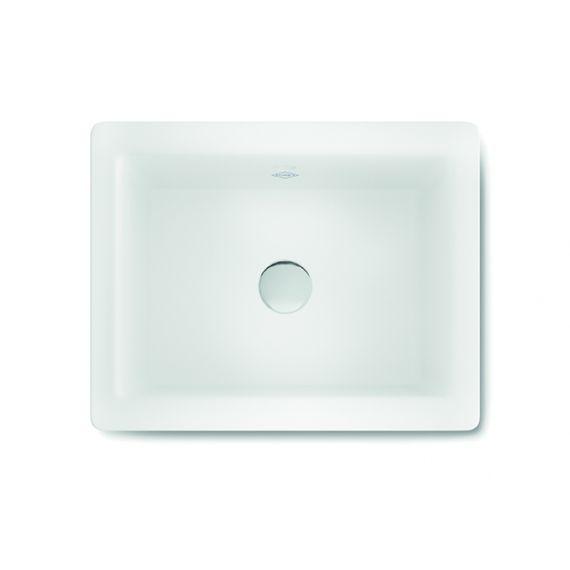 Shaws Crossdale White Bathroom Sink