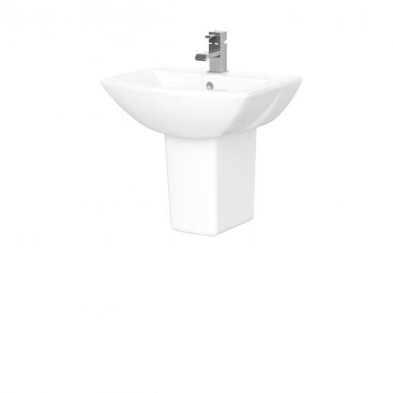500mm Basin & Semi Pedestal