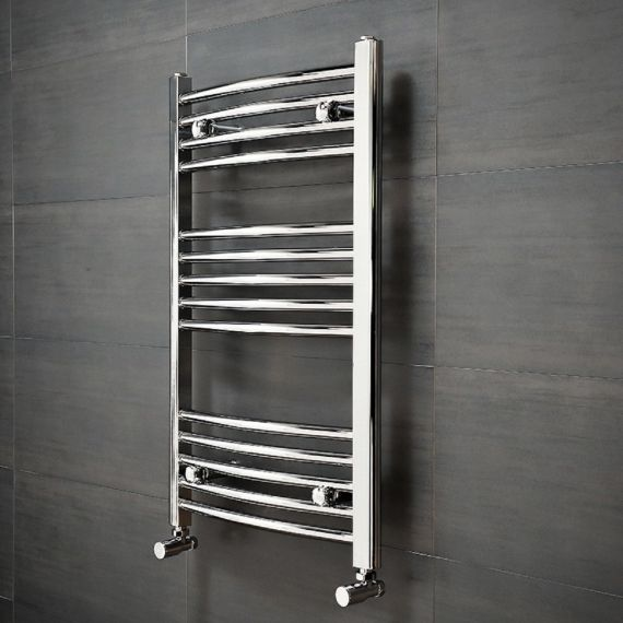 Vado 1200x500 Curved Bathroom Radiator