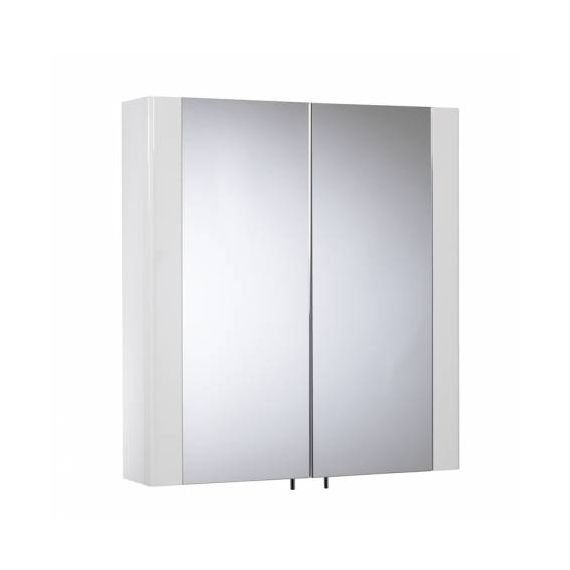 Detail 2 Door White Cabinet