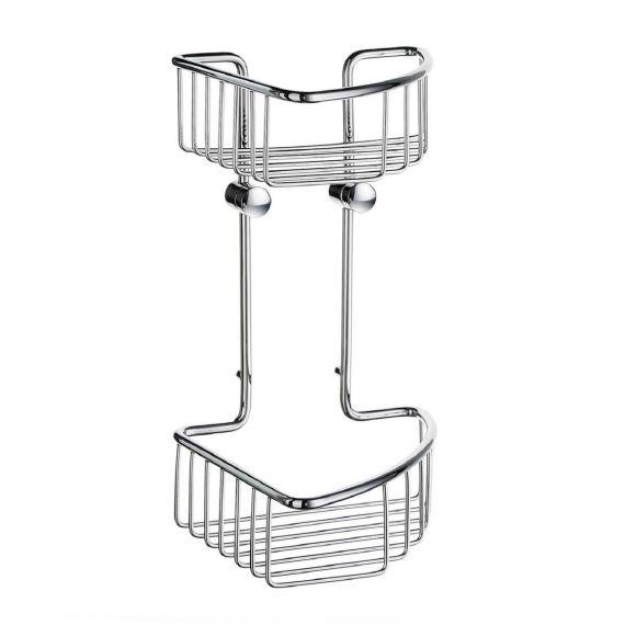 Smedbo Sideline Basic Corner Double Soap Basket DK1021