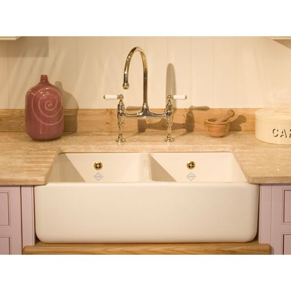 Shaws of Darwen Classic Double 800 Belfast Kitchen Sink SCLD800WH