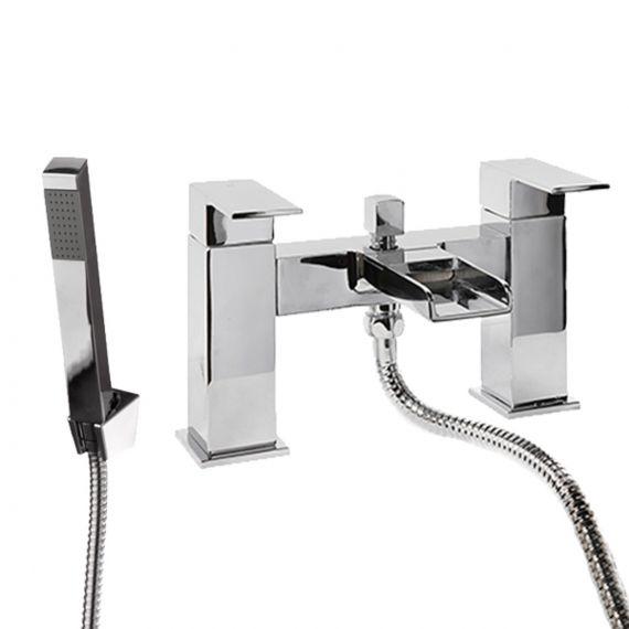 Rain Waterfall Bath Shower Mixer Tap