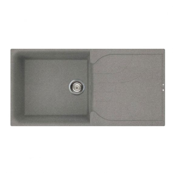 Reginox Ego 480 1.0 Bowl Granite Grey Titanium Kitchen Sink EGO480TT
