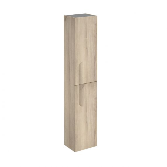 Frontline Vitale 300mm Tall Wall Unit - Light Oak