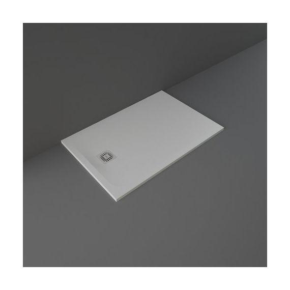 Rak Feeling 1200 x 800 mm Rectangular Bath Tub Replacment Shower Tray Grey