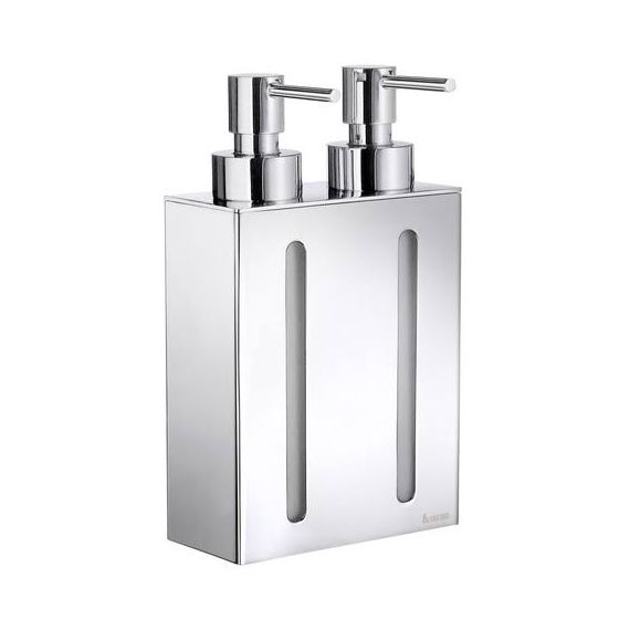 Smedbo Outline Double Wall Soap or Lotion Dispenser FK258