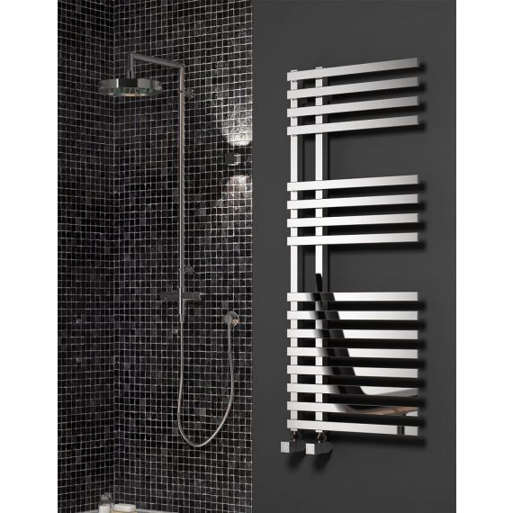 Reina Felino Designer Heated Towel Rail 1200 x 500mm Chrome