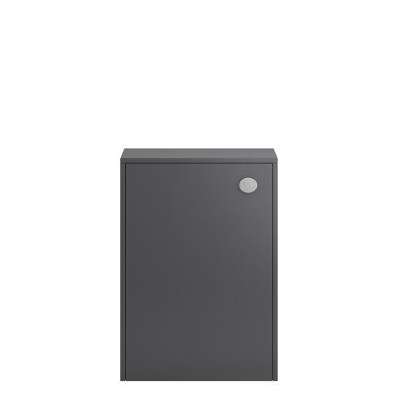 Coast Grey Gloss 500mm WC Unit