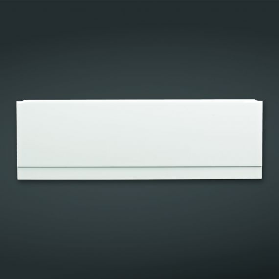 1700x585mm High Gloss White Front Bath Panel