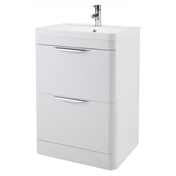 600mm Floor Standing Cabinet & Basin
