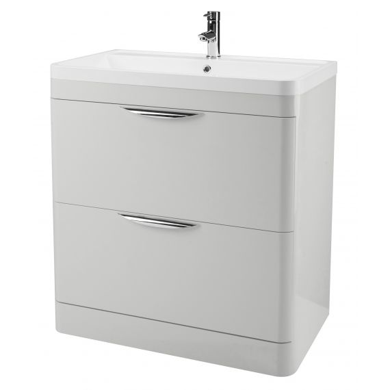 800mm Floor Standing Cabinet & Basin