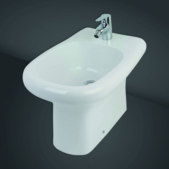 Special Needs Back to Wall Bidet without Overflow