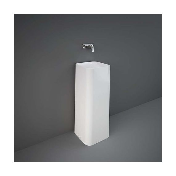 RAK Petit Square Freestanding Wash Basin White PETFS23600AWHA