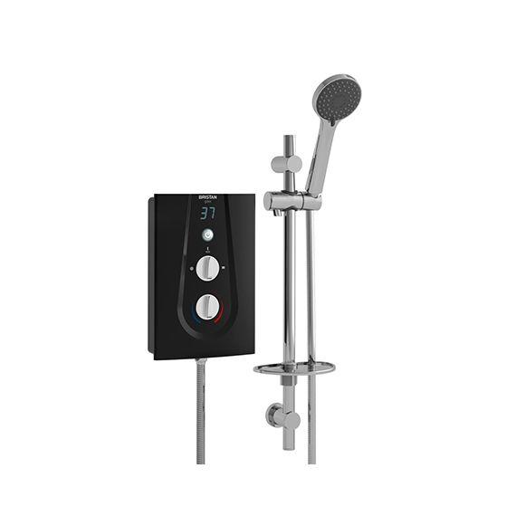 Bristan Glee Electric Shower 10.5kW Black GLE3105 B