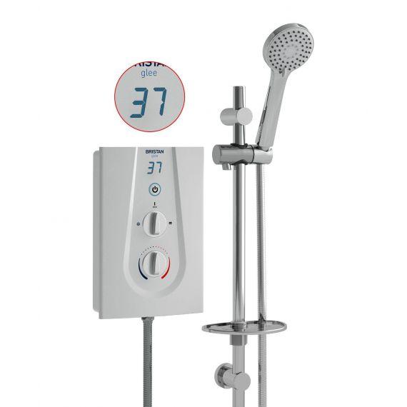 Bristan Glee 8.5kW Electric Shower GLE385 W