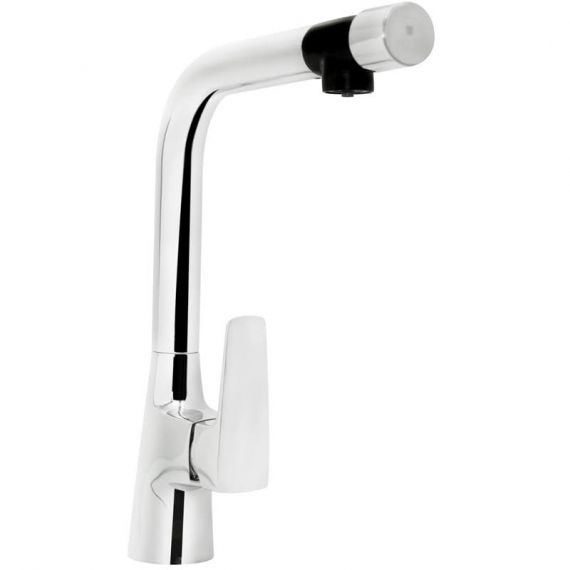 Bristan Gallery Pure Sink Mixer with Filter Chrome GLL PURESNK C