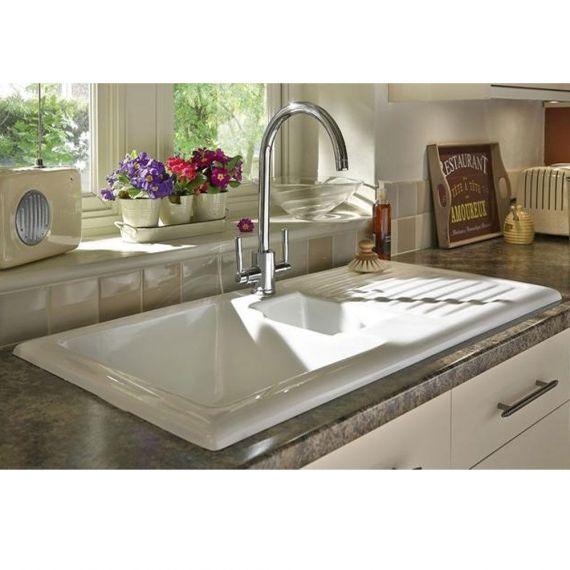 RAK Gourmet Sink 1 Kitchen Sink 1.5 Bowl
