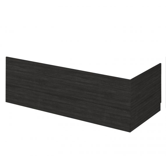 Nuie Hacienda Black 800mm Bath End Panel