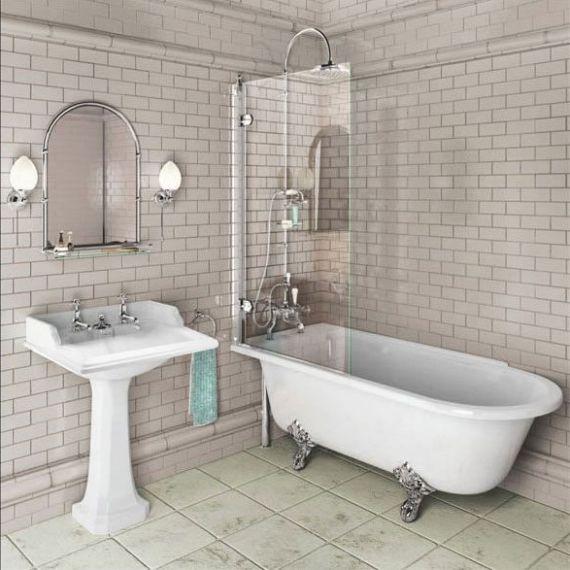 Burlington Hampton Shower Bath 1700 LH