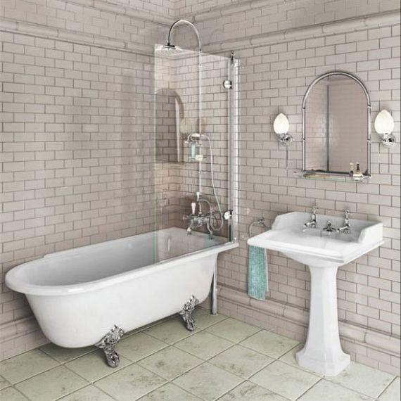 Burlington Hampton Shower Bath 1500 RH