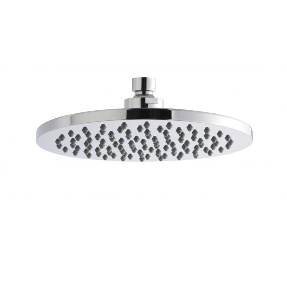 Nuie Round Fixed Head 200mm Chrome