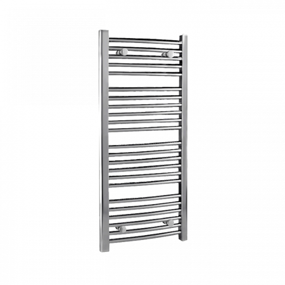 Nuie Curved Heated Ladder Rail Chrome 1100 x 500mm