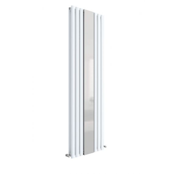 Revive Double Panel Radiator With Mirror White 1800 x 499mm