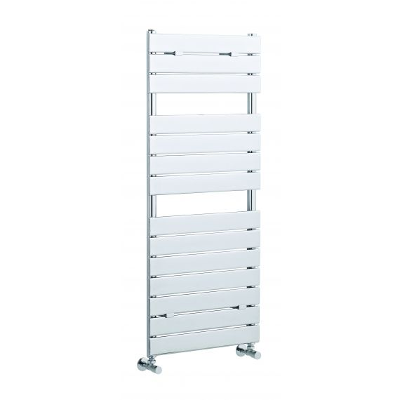 Piazza 14 Panel Heated Towel Rail Chrome 1213 x 500mm
