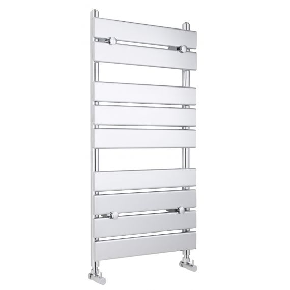 Piazza Heated Towel Rail Chrome 950 x 500mm