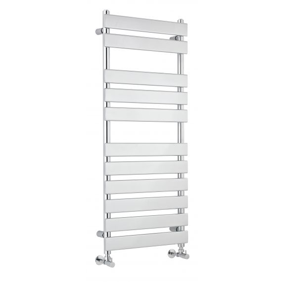 Piazza Heated Towel Rail Chrome 1200 x 500mm