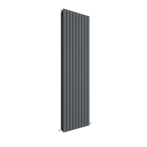 Sloane Vertical Double Panel Radiator Anthracite 1800 x 528mm