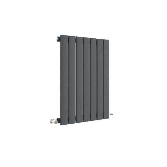 Sloane Horizontal Single Panel Radiator Anthracite 600 x 412mm