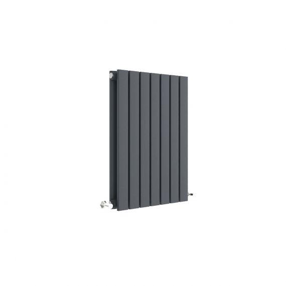 Sloane Horizontal Double Panel Radiator Anthracite 600 x 412mm