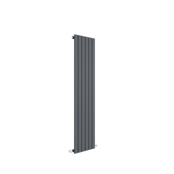 Sloane Vertical Single Panel Radiator Anthracite 1500 x 354mm