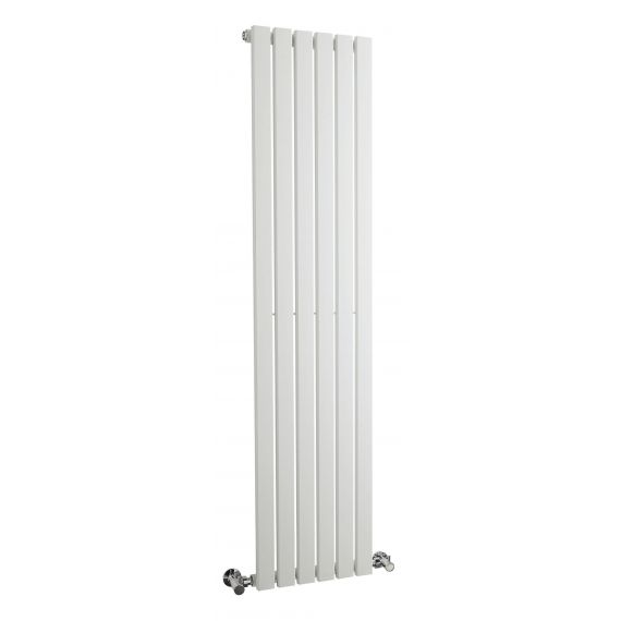 Sloane Single Panel Designer Radiator White 1500 x 354mm