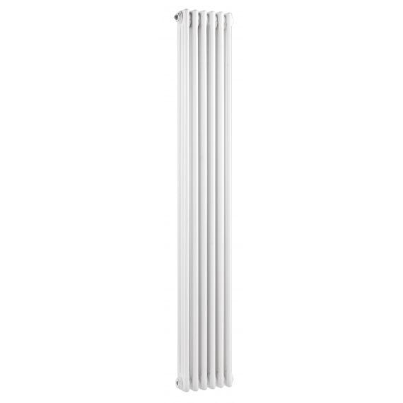 Colosseum Triple Column Traditional Radiator White 1800 x 287mm