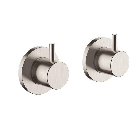 Inox wall panel valves