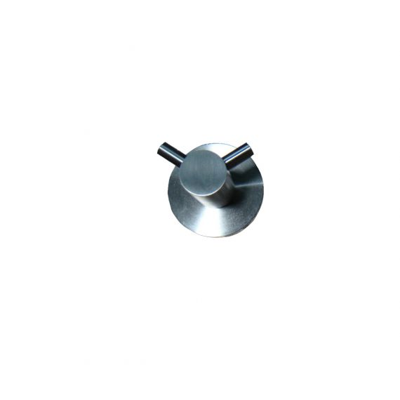 Inox Double Robe Hook