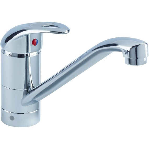 Bristan Java Easyfit Single Flow Kitchen Sink Mixer Tap Chrome J SFSNK EF C