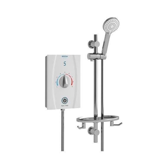 Bristan Joy Care Thermostatic 8.5kW Electric Shower JOYTHC85 W