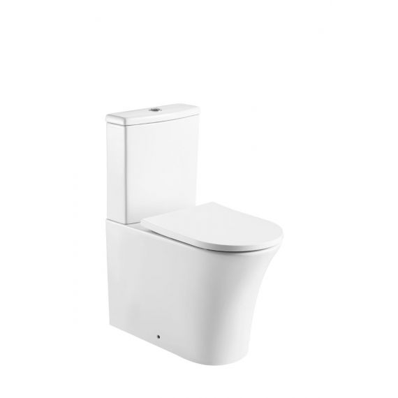 Kameo Fully Back To Wall C/C Rimless Toilet & Soft Close Seat