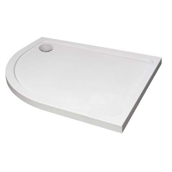 Kartell 1200x900 Left hand Offset Quadrant Shower Tray