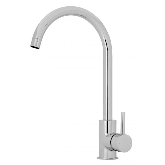 Nuie Single Lever Kitchen Tap Chrome